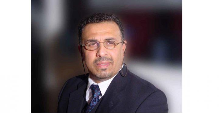 كريم بدر - إعلامي وكاتب عراقي لجأ إلى السعودية في تسعينيات القرن العشرين. Foto: Privat