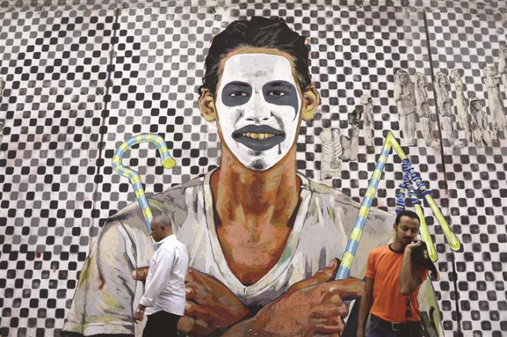 غرافيتي في القاهرة / الصورة: حسن عمار