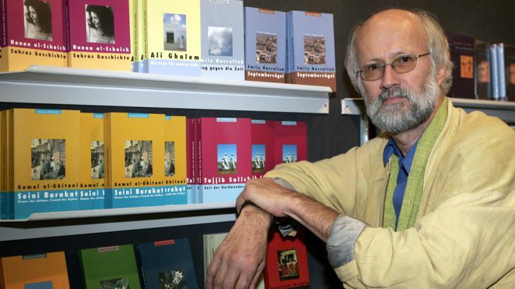 Der deutsche Literaturwissenschaftler Hartmut Fähndrich; Foto: picture-alliance/dpa/F. May