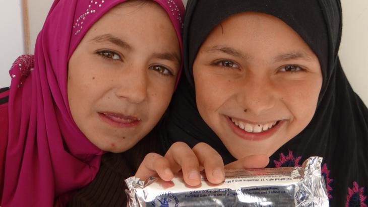 برنامج الأغذية العالمي WFP – مخيم الزعتري. Foto: WFP/Dina Elkassaby