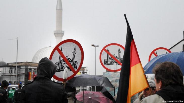 Symbolbild - Islamfeindlichkeit. Foto dpa