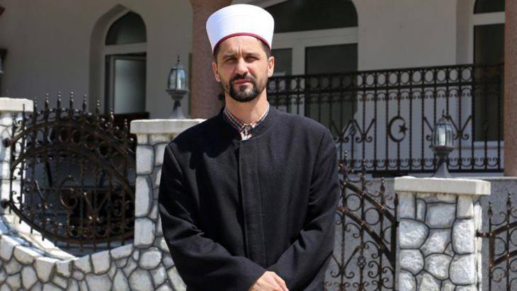دامير بيشتاليتش. إمام المسلمين في سربرنيتسافي البوسنة و الهرسك. Foto: DW/M. Sekulic