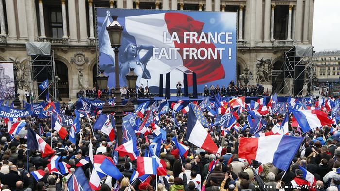 اليمين الفرنسي الشعبوي حصد العديد من الأصوات في عهد الرئيس الاشتراكي أولاند. Getty Images