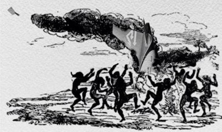 من أعمال فنان الكاريكاتير حسن دعيميش الملقب بالساطور 2014. (copyright: Alsatoor)