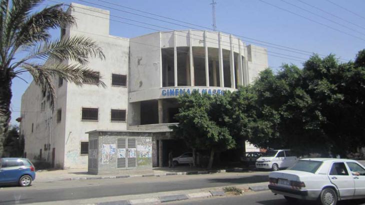 Das Nasr-Kino in Gaza City; Foto: DW/H. Balousha