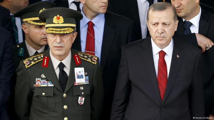 أردوغان يتحالف مع الجناح العلماني في الجيش