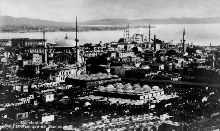 صورة تاريخية لمدينة اسطنبول في تركيا. Quelle: wikipedia