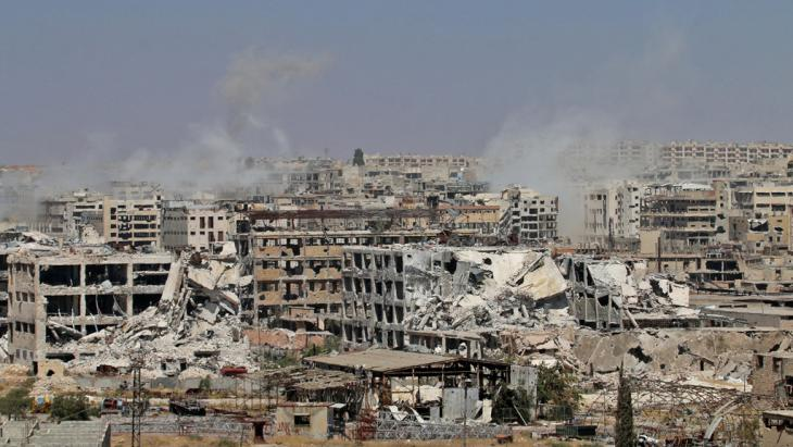 Zerstörtes Aleppo; Foto: Getty Images/AFP/G. Ourfalian