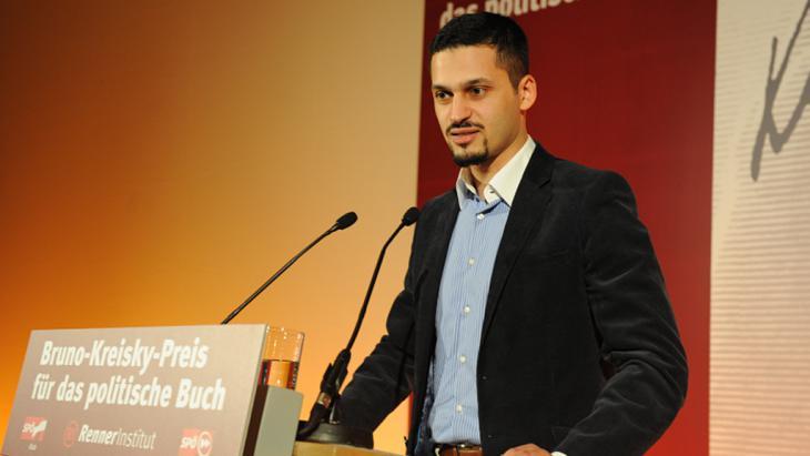 Der österreichische Politologe Farid Hafez; Foto: cc-by/Fatih Öztürk