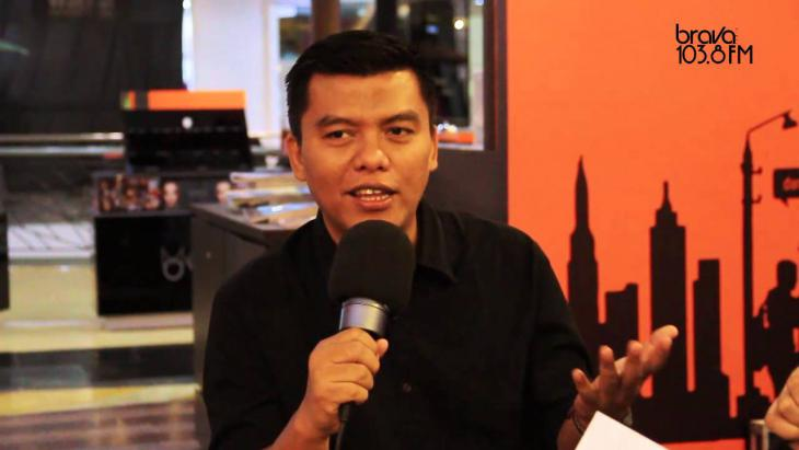 Indonesian writer and director Noor Huda Ismail (source: YouTube)