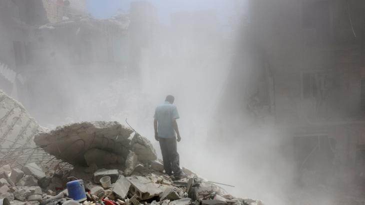 الدمار في حلب. Foto: Reuters/A. Ismail