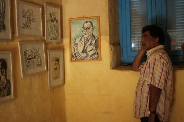 الفنان المصري محمد عبلة
