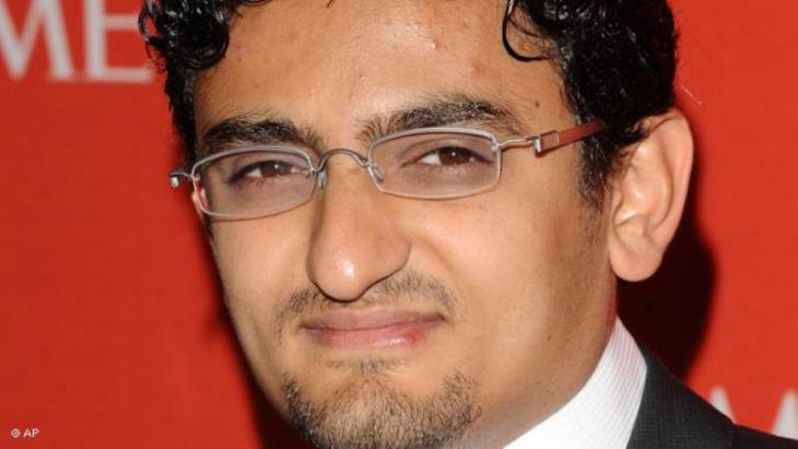 Internetaktivist Wael Ghonim; Foto: AP