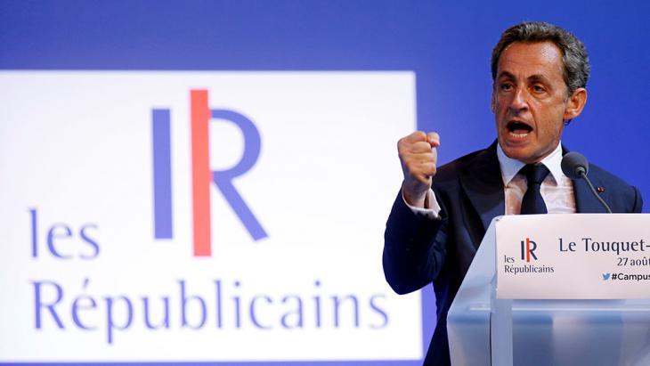ساركوزي Foto: Reuters/P. Rossignol