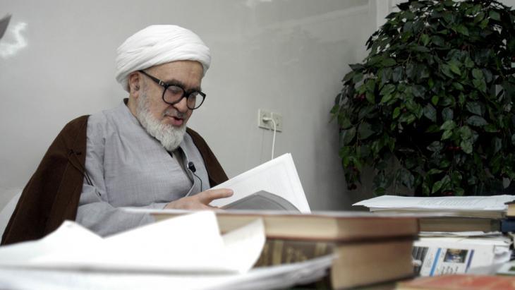 آية الله حسين علي منتظري. المصدر: Getty Images