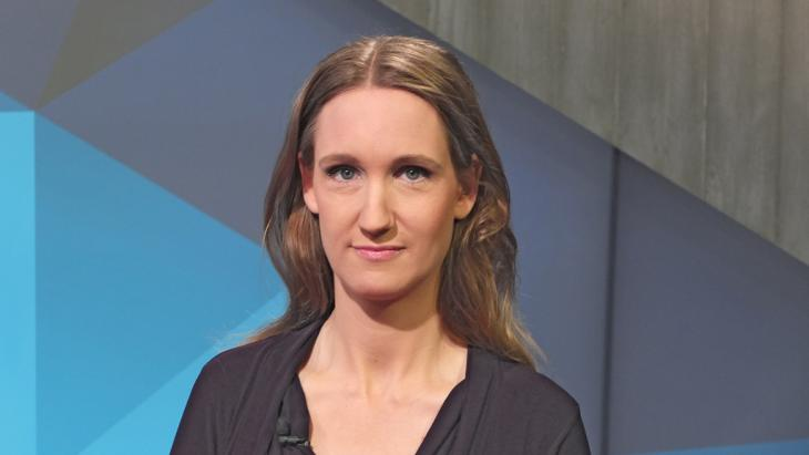 Die Politikwissenschaftlerin und Journalistin Kristin Helberg; Foto: DW