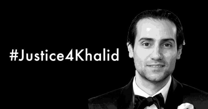 Kampagne Solidarität für Khalid Jabara; Quelle: Arab American Institute