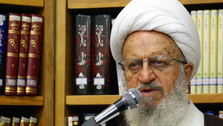 آية الله العظمى مكارم شيرازي في قُم الإيرانية. Foto: IRNA