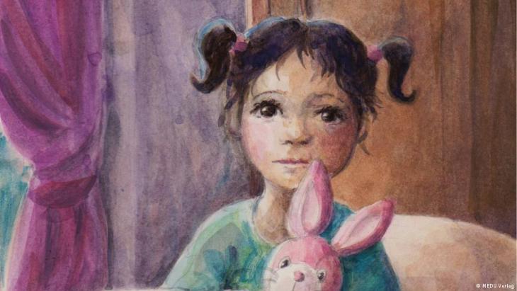 """""""نجم يطل على نافذتك"""" أول كتاب للأطفال الذين قدموا إلي ألمانيا من مناطق الأزمات والحروب. هو مؤلف من حكايات من العراق وأفغانستان وسوريا وإفريقيا. وهي حكايات مدونة باللغة الأم لأطفال اللاجئين ومترجمة أيضا إلى الألمانية والانجليزية."""