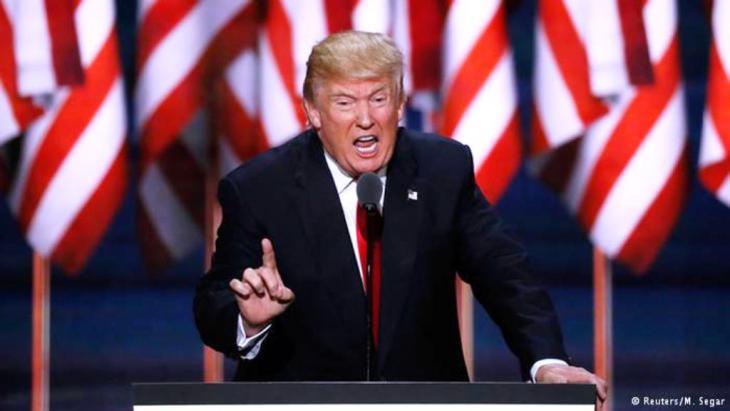 الرئيس الأمريكي المنتخب دونالد ترامب