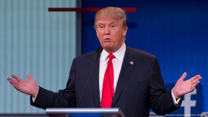 الرئيس الأمريكي المنتخب دونالد ترامب. Foto: picture-alliance/AP