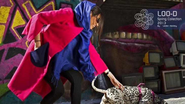 تصميم لأحد أزياء الموضة الإيرانية. Quelle: Loo-D Design