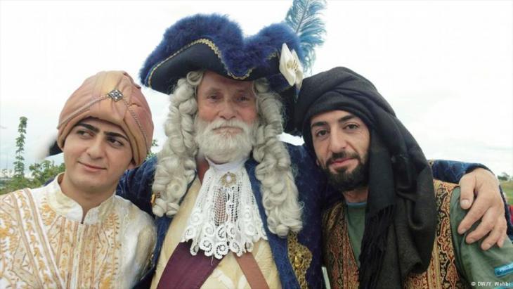 أزياء عصر الباروك والأمراء العرب