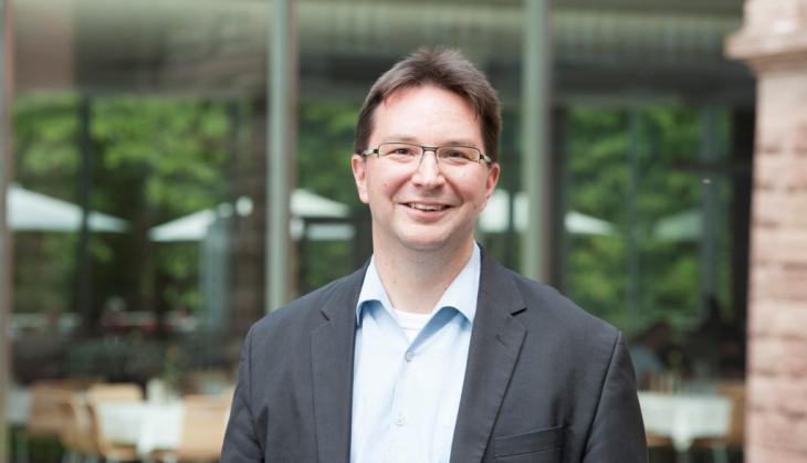 الدكتور ميشائيل بلومه باحث ألماني مختص في العلوم الدينية. Foto: privat