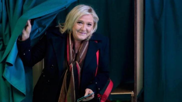مخاوف من صعود ماريان لوبان لرئاسة فرنسا الصورة د.ب.أ