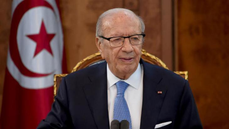 الرئيس التونسي الباجي قائد السبسي. afp