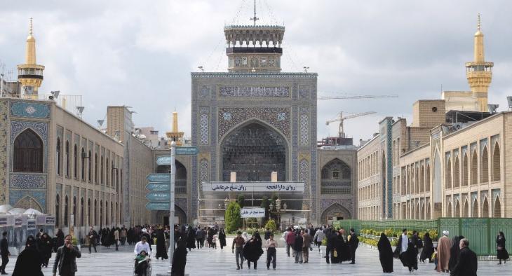 """ساحة """"الثورة الإسلامية"""" في مدينة مشهد – إيران. Foto: Ulrich von Schwerin"""