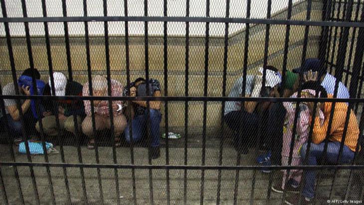 سجناء في مصر