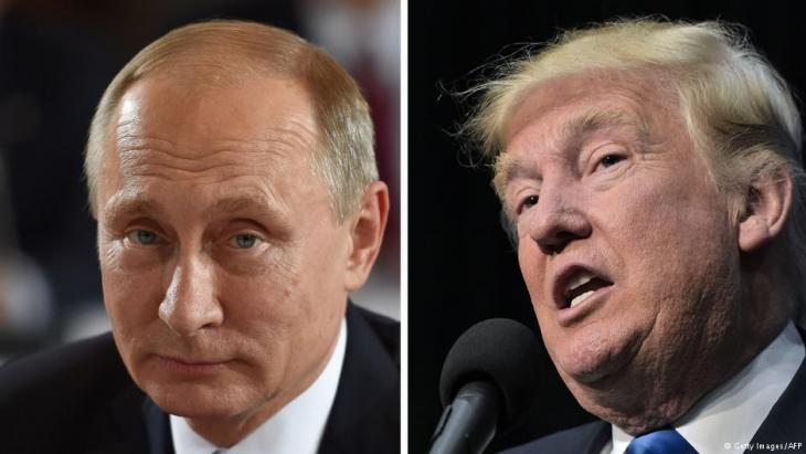 ترامب يعرض على بوتين خفض الأسلحة النووية مقابل رفع عقوبات مفروضة ضد روسيا