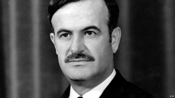 الرئيس السوري السابق حافظ الأسد. Foto: AP
