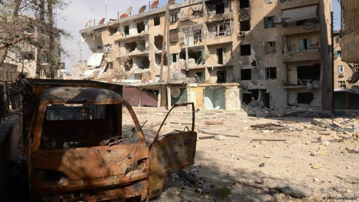 """حي مزة جبل 86... استهدفته المعارضة لأن فيه أكثرية """"مؤيدة للنظام السوري"""""""