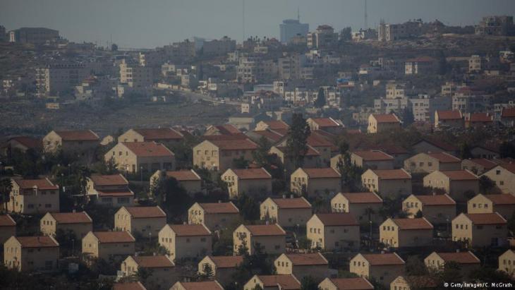 مستوطنة أمونا الإسرائيلية في الضفة الغربية.