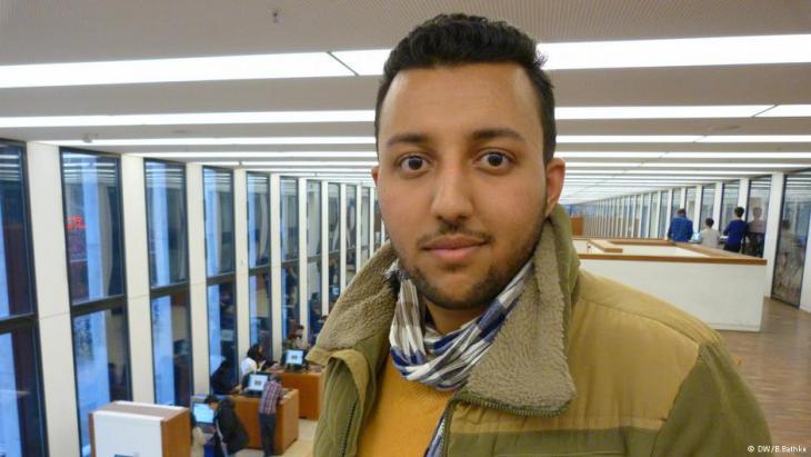 عبد الحميد المحفدي، رئيس اتحاد طلبة اليمن في ألمانيا