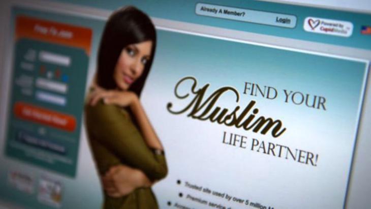 انتشرت في أوروبا ظاهرة مواقع الإنترنت التي تقوم بالوساطة للجمع بين قلوب من ينوي الزواج من المسلمين والمسلمات.