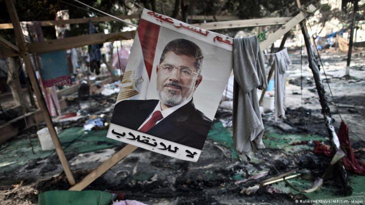 فض اعتصام رابعة العدوية بالقوة في القاهرة. Foto: AFP/Getty Images