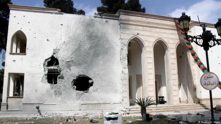 مقر الحكومة في العاصمة الليبية طرابلس. Foto: Reuters