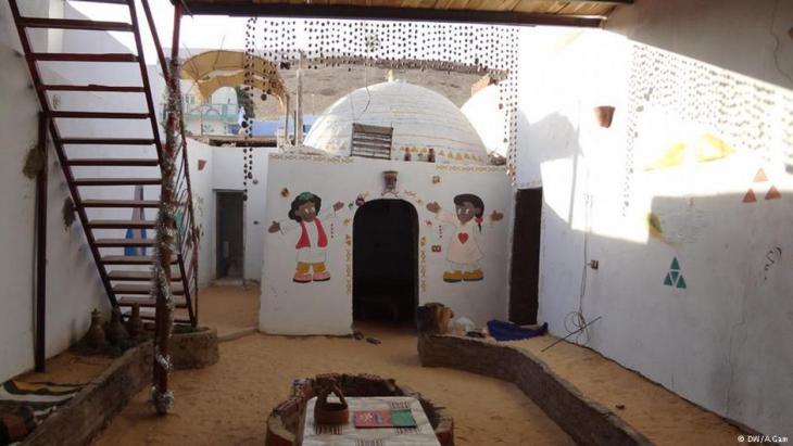 منطقة نوبية منسية في مصر. الصورة التُقِطَت في ديسمبر/ كانون الأول عام 2011.
