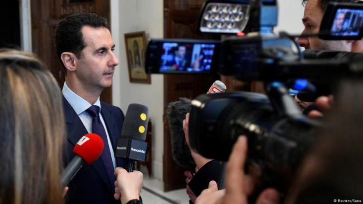 رئيس النظام السوري بشار الأسد. Foto: Reuters