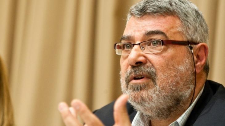 المحلل السياسي الفلسطيني الأردني والصحفي رامي خوري. Foto: AP