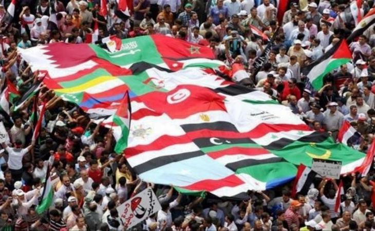 إحدى مظاهرات الربيع العربي. dpa