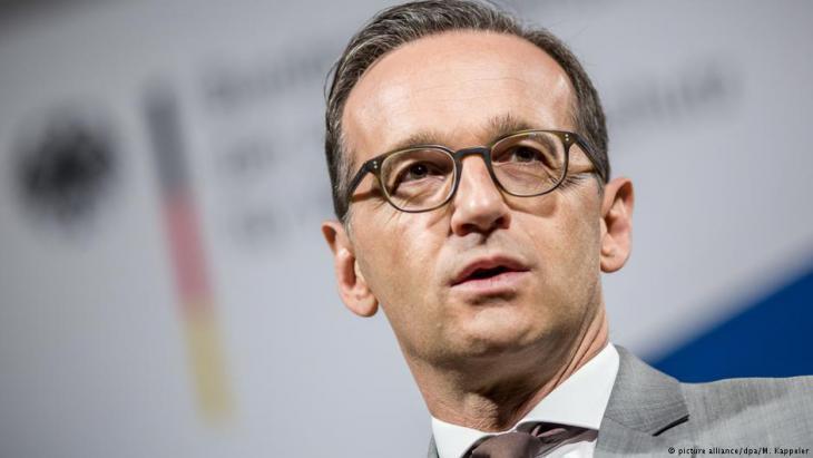 وزير العدل الألماني هايكو ماس.  Foto: picture-alliance/dpa
