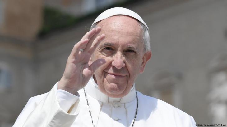 البابا فرانسيس. Foto: AFP/Getty Images