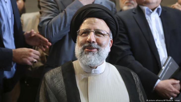 المرشح للرئاسة الإيرانية إبراهيم رئيسي. Foto: picture-alliance/AP