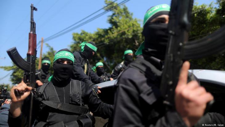 مسلحون من حركة حماس الفلسطينية. Foto: Reuters/M. Salem