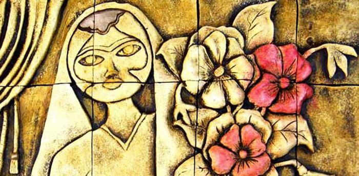 """الخاتون فاطمة (وفي بعض المصادر """"زمرد"""") بنت نجم الدين أيّوب، أخت صلاح الدين الأيوبي (1219م). Quelle: Raseef22"""