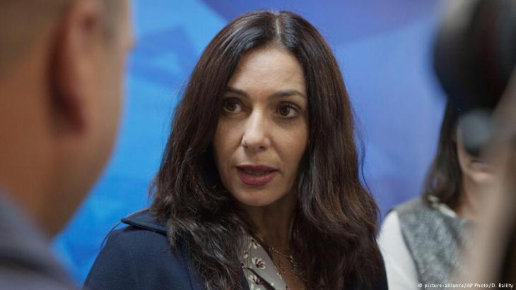 وزيرة الثقافة الإسرائيلية ميري ريغيف